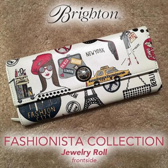 Brighton Handbags - Brighton Jewelry Roll Fashionista Collection (NWT)
